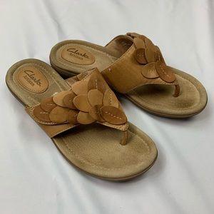 Clarks Reid Ricki Artisan Flip Flop Sandals 7